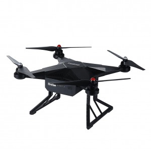 Advanced Aerial Remote Controlled RC Drones Quadcopter with 4K 16MP HD Sport Camera Battery and Control System Black