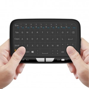 World's first Full Touch Keyboard,Pocket 2.4GHz Wireless Keyboard Mouse with Full Touchpad for Android TV Box, Kodi,HTPC, IPTV, PC, PS3 ,Xbox 360, Raspberry Pi,NVIDIA SHIELD TV