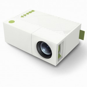 Portable LCD Projector HD 400-600 LM 1080P AV USB HDMI Video LED Mini Projector Smart Home Cinema Theather Video Projector