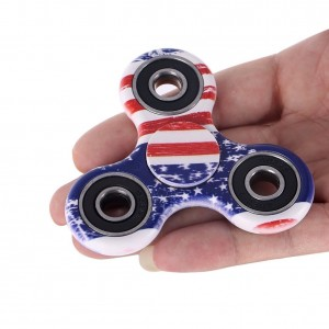 Fidget Toy Hand Spinner Camouflage, Stress Reducer Relieve Anxiety and Camo