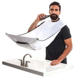 Beard Bib White