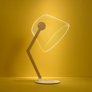 3D Table Lamp Led Reading Lamps