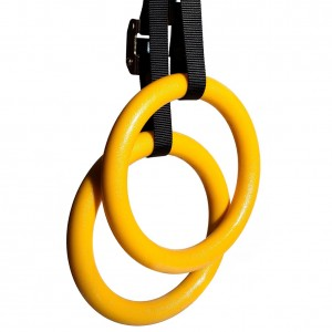 Gymnastic Rings for Full Body Strength and Muscular Bodyweight Training