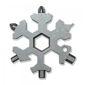 18 In 1 Incredible Tool – Easy N Genius - FEX 18-in-1 Stainless Steel Snowflakes Multi-Tool