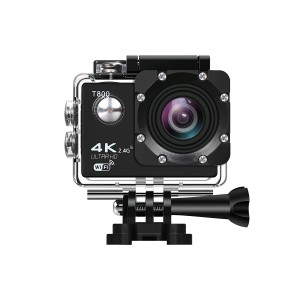 4K Action Camera WiFi Waterproof Sports Camera with Remote Control 170 Degree Wide Angle Lens,Sony CMOS Sensor- 2 PCS 1050mAh Batteries ,Full Accessories Kits