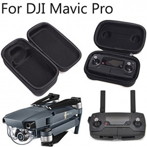 DJI Mavic Pro Carrying Case Foldable Drone Body and Remote Controller Transmitter Bag Hardshell Housing Bag Storage Box
