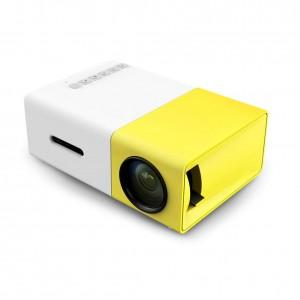 LED Portable Projector 500LM 3.5mm Audio 320x240 Pixels HDMI USB Mini Projector Home Media Player