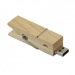 Pen drive clamps 16gb  wooden USB Flash Drive, Business Pen Driver, versatile and practical clip USB Flash Disk