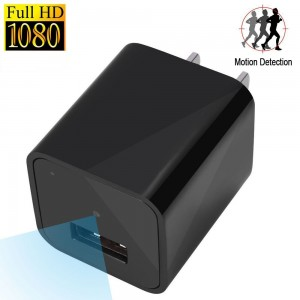 Hidden Spy Camera 1080P HD USB Wall Hidden Camera Charger Nanny Hidden Home Security Camera Motion Detective Loop Recording
