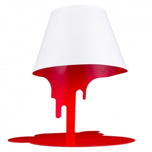 Bleeding Desk Lamp