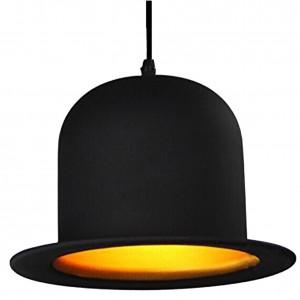 110v/220v Top Hat Pendant Lights aluminum Hat light for Kitchen D26cm*H17cm Creative Pendant Lamp for Coffee shop Bar