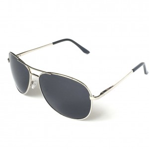 Premium Military Style Classic Aviator Sunglasses, Polarized, 100% UV protection