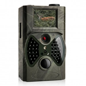 Trail Game Camera with Night Vision - 1080P FHD 12MP Camera with Unique External LCD Screen, 20m/65ft Motion Activated, Waterproof Deer Camera for Hunting and Home Security