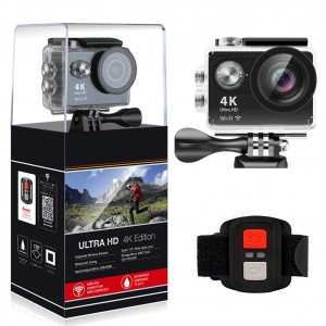 4K All WIFI Sports Action Camera Ultra HD Waterproof DV Camcorder 12MP 170 Degree Wide Angle