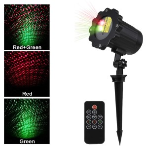Christmas Projector Light, All sky star, IP65 Waterproof Laser Landscape Projector, in-Ground Mounted/Wall Mounted for Garden Backyard Patio Lawn Tree